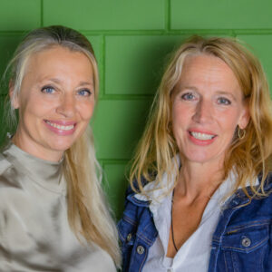 portret van Marjolein en Karin
